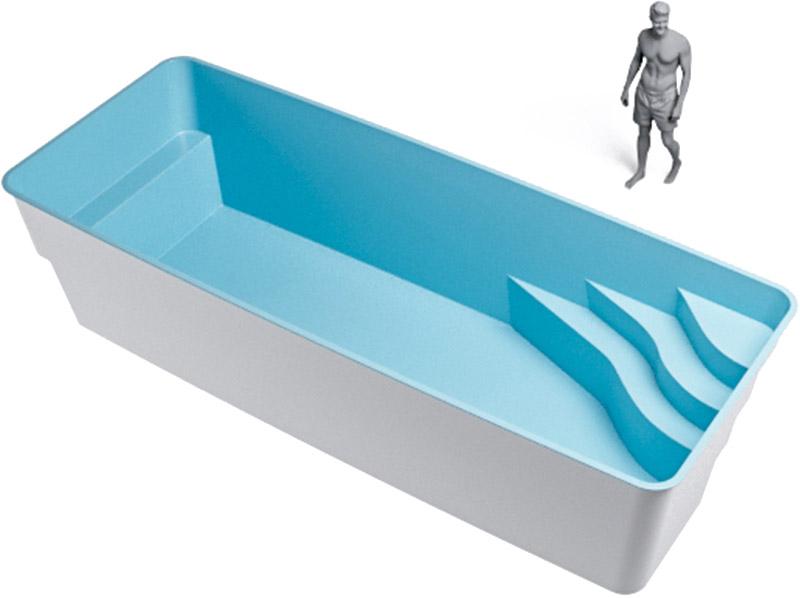 medidas piscina rectangular