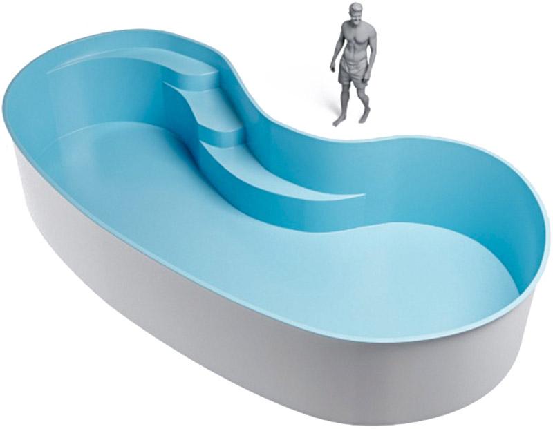medidas piscina riñón