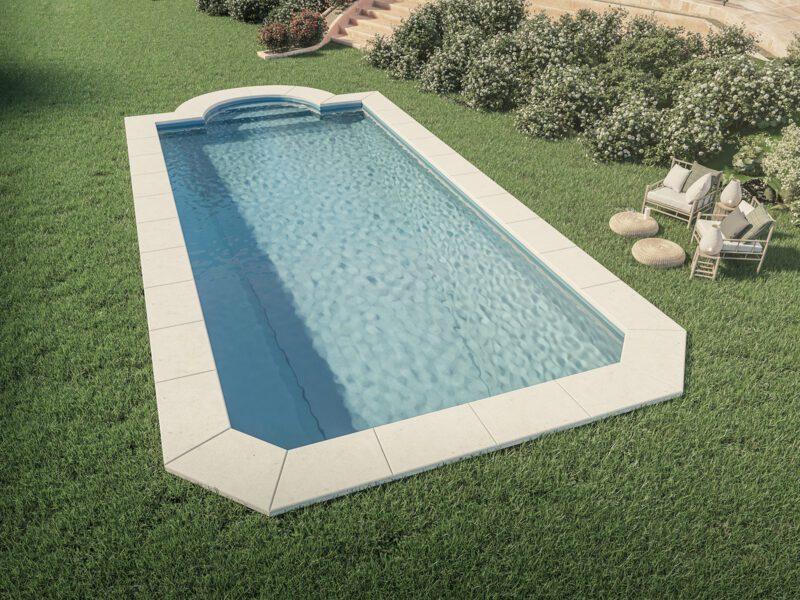 piscina grande estilo romano
