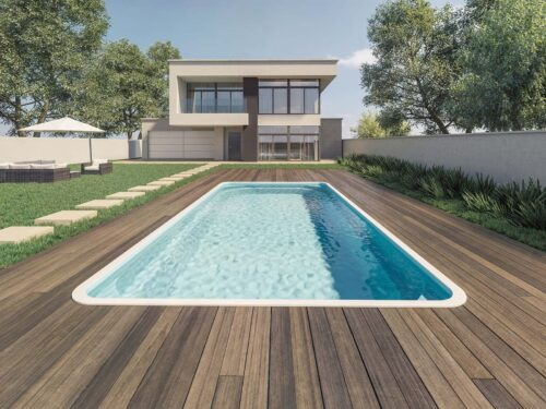 piscina rectangular grande