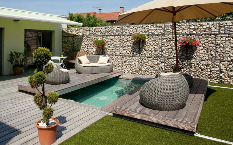 mini piscina terraza móvil