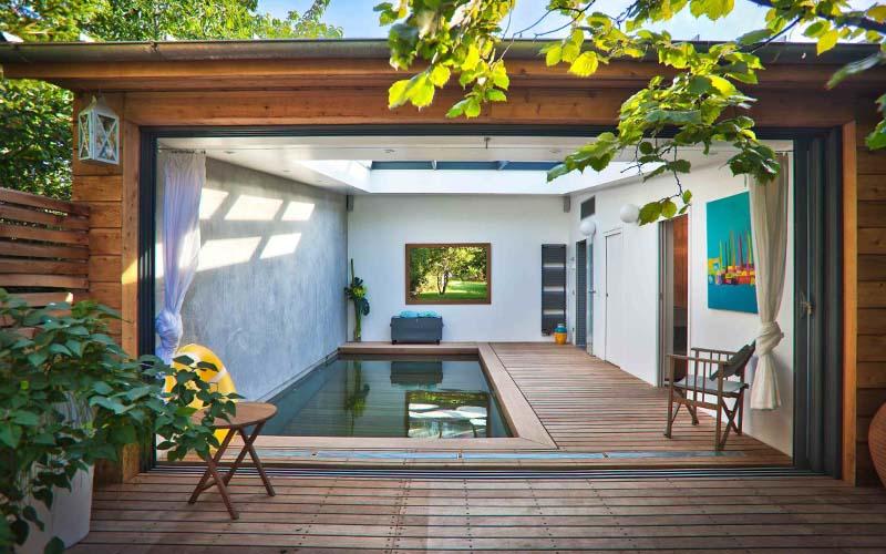 piscina interior casa