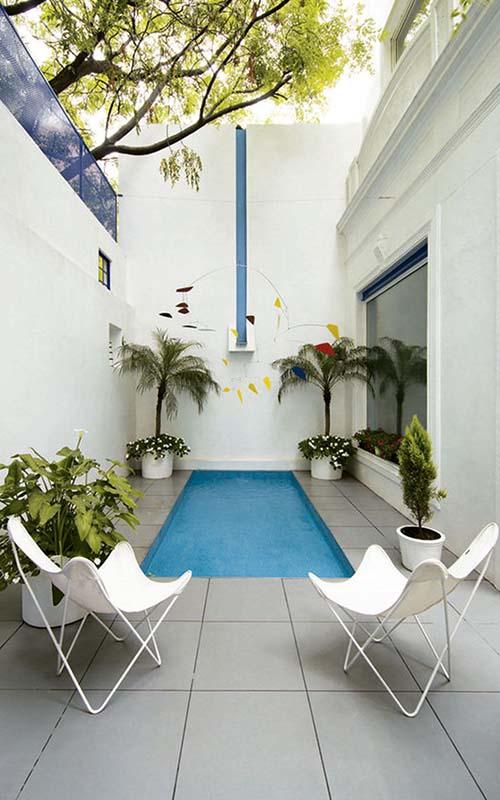 piscina pequeña patio interior