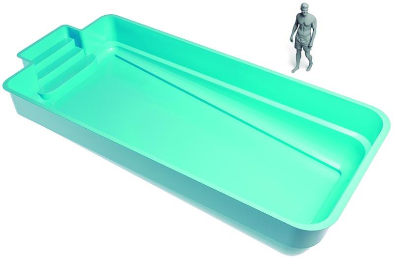 medidas piscina prefabricada grande