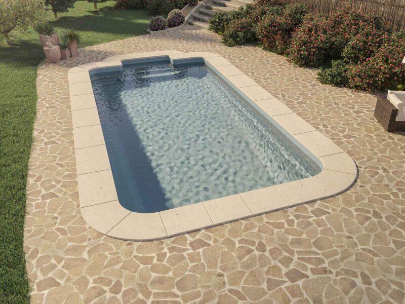piscina prefabricada grande diva scarlett